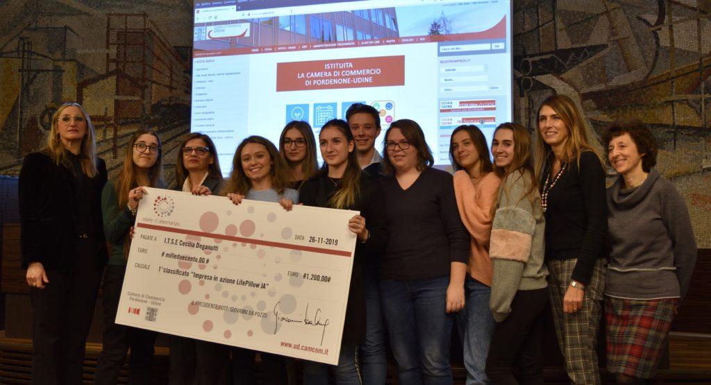 """Il Deganutti conquista il Primo Premio al concorso """"Storie di Alternanza"""""""