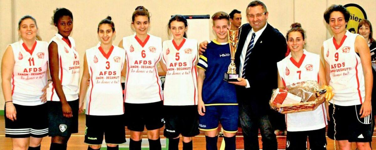 Il Deganutti vince il torneo Athena's di calcio a 5 femminile