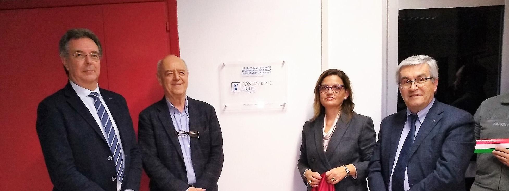 Inaugurato il nuovo Laboratorio di Tecnologia dell'Informazione