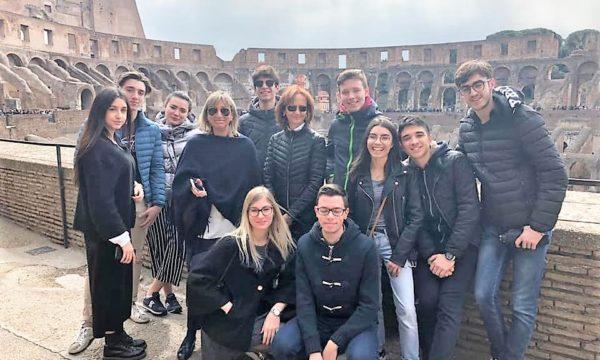 Progetto eccellenze: due classi del Deganutti a Roma