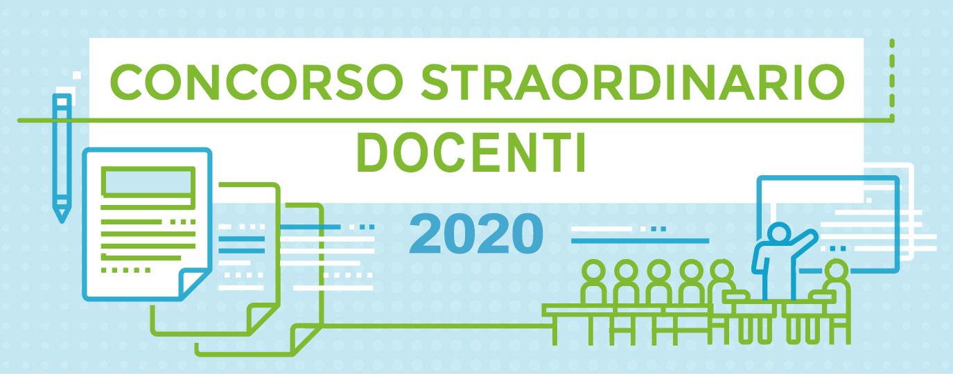 Concorso straordinario docenti D.D. 510/2020 – D.D. 783/2020