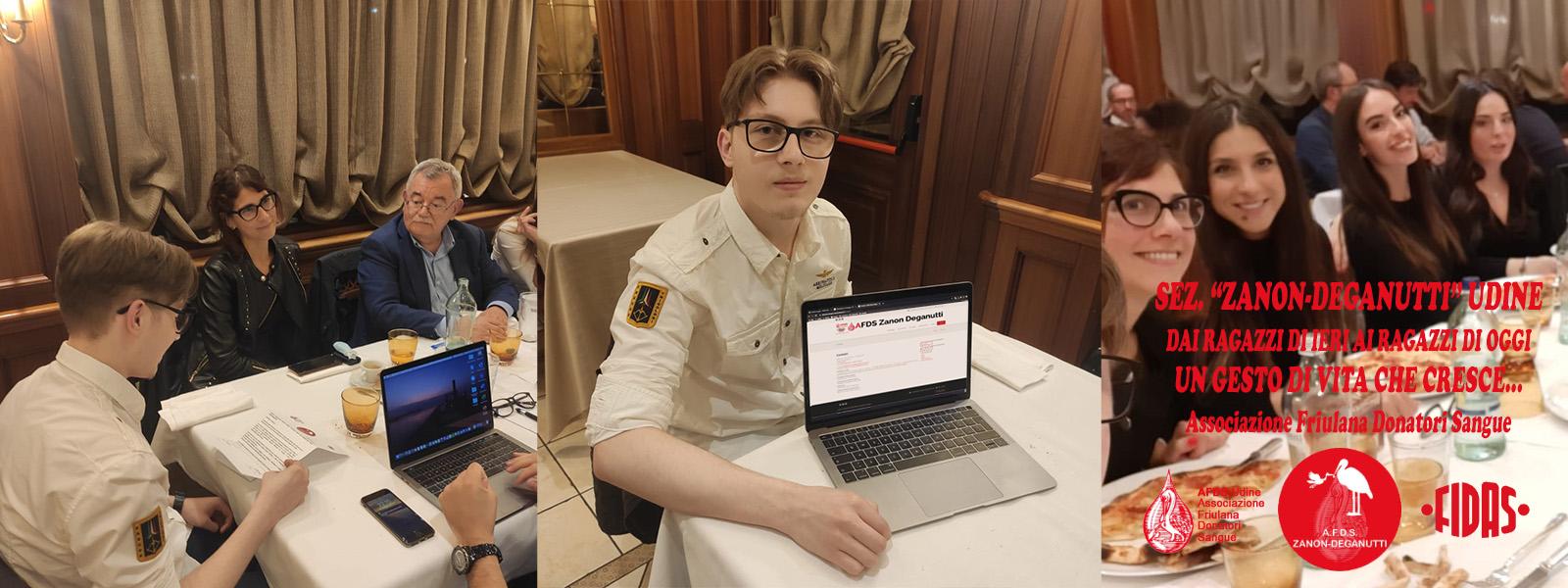 Gianluca vincitore del concorso per la realizzazione del sito web dell'AFDS