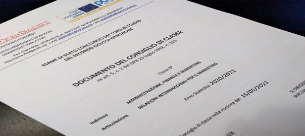 Documento 15 maggio 2021 classi quinte