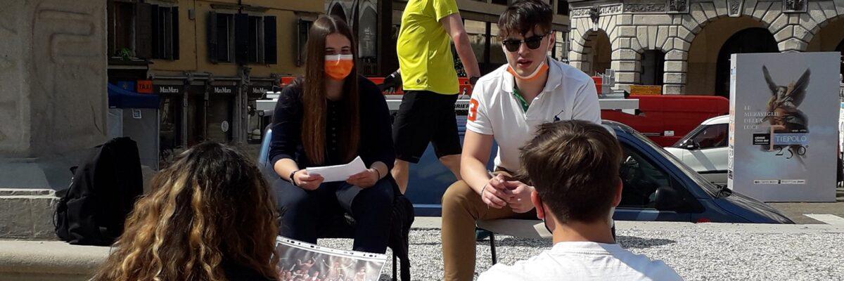 La libertà di raccontarsi … in piazza