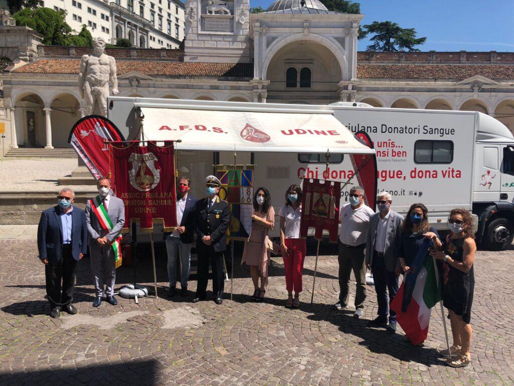 Giornata Mondiale del Donatore Udine 2021