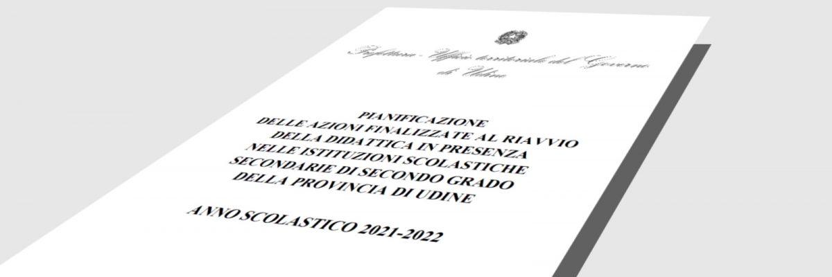 Prefettura di Udine: pianificazione azioni per riavvio didattica in presenza
